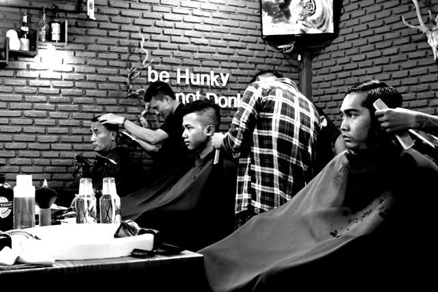 cukur rambut 2