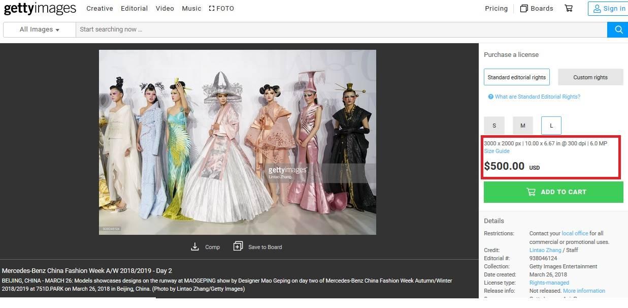 Harga Foto di Getty Images Lebih Mahal Daripada Biaya Server Blog Ini 2
